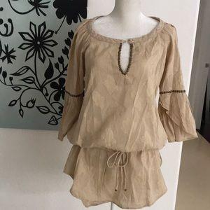 Tulip chemise tunic top